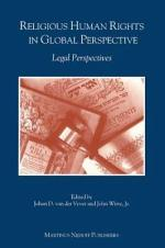 Religious Human Rights in Global Perspective : Legal Perspectives