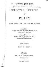 Selected Letters of Pliny: With Notes for the Use of Schools