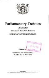 Parliamentary Debates PDF