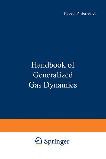 Handbook of Generalized Gas Dynamics PDF