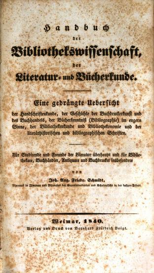 Handbuch der Bibliothek PDF