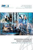 Professionalization of Project Management PDF