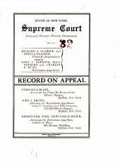 State of New York Supreme Court Appellate Division