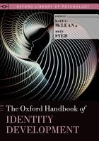 The Oxford Handbook of Identity Development PDF