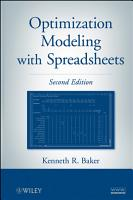 Optimization Modeling with Spreadsheets PDF