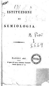 Istituzioni di semiologia.[Minichini]