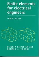 Finite Elements for Electrical Engineers PDF