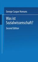 Was ist Sozialwissenschaft  PDF