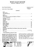 West Coast Review PDF
