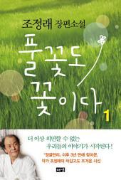 풀꽃도 꽃이다 1 : 조정래 장편소설