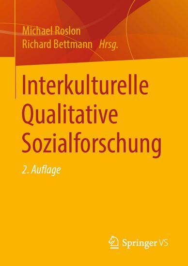 Interkulturelle Qualitative Sozialforschung PDF