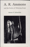 A R  Ammons and the Poetics of Widening Scope PDF