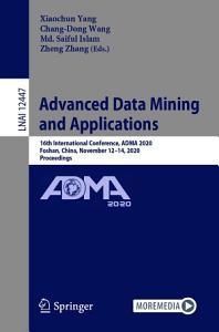 Advanced Data Mining and Applications PDF