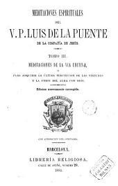 Meditaciones Espirituales del V.P. Luis de la Puente, 3