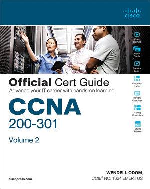 CCNA 200 301 Official Cert Guide  Volume 2