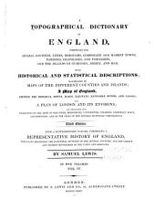 A Topographical Dictionary of England: Volume 4