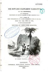 Sir Edward Seaward's narrative of his shipwreck and consequent discovery of certain Islands in the Carribean Sea