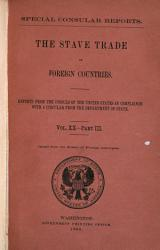 Stave Trade in Foreign Countries