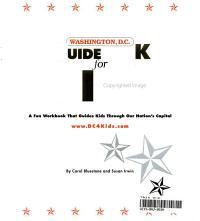 Washington  D C  Guidebook for Kids PDF