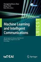 Machine Learning and Intelligent Communications PDF