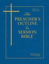 Preacher's Outline & Sermon Bible-KJV-Hebrews-James