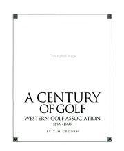 A Century of Golf PDF