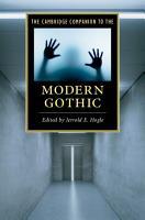 The Cambridge Companion to the Modern Gothic PDF