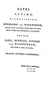 Dissertatio iuridica inauguralis, de prohibitione nuptiarum propter cognationem et affinitatem