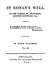St. Ronan's Well: In Four Volumes, Volume 3