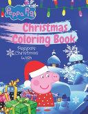 Peppa Pig Christmas Coloring Book