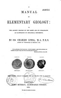A manual of elementary geology PDF