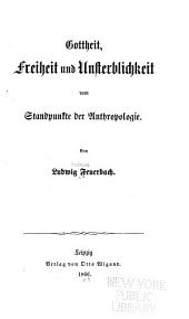 Ludwig Feuerbach's sämmtliche werke ...