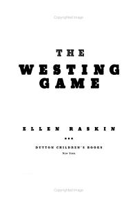 The Westing Game PDF