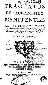 Tractatus de sacramento poenitentiae