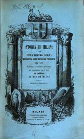 Storia di Milano: Volume 1