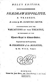 Phaedra and Hippolitus, a Tragedy