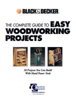 Black   Decker The Complete Guide to Easy Woodworking Projects PDF