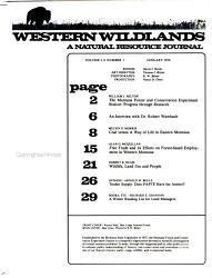 Western Wildlands PDF