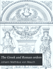 The Greek and Roman orders