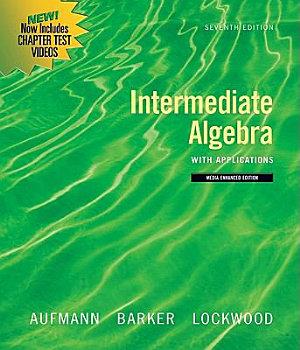Intermediate Algebra with Applications  Multimedia Edition PDF