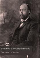 Columbia University Quarterly PDF