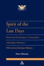 Spirit of the Last Days