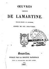 Oeuvres choisies de Lamartine: édition dédiée à la jeunesse, ornée de gravures