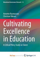 Cultivating Excellence in Education PDF