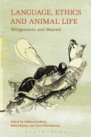 Language  Ethics and Animal Life PDF
