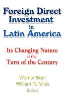 Foreign Direct Investment in Latin America PDF