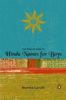 The Penguin Book of Hindu Names for Boys PDF