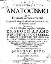 De anatocismo; praes: Georg. Adam. Struve