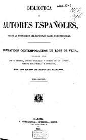 Dramáticos contemporáneos a Lope de Vega: Volumen 2