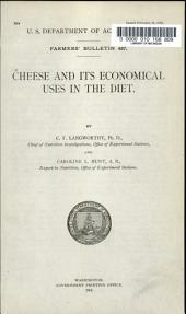 Cheese and Its Economical Uses in the Diet